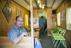 Reinhard Grammlich, Leiter des Bauwagens